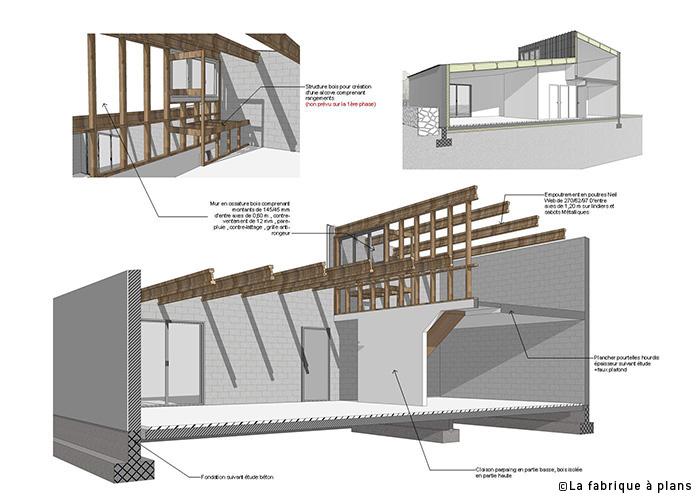 La fabrique plans dessinateur projeteur for Comment dessiner des plans pour la maison