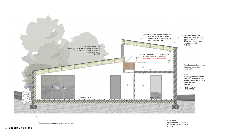Paisseur Fondation Maison 7 Conception Oui Une Cave Avec