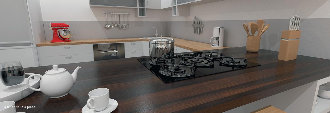 Dessinateur projeteur modelisation cuisine 2 la fabrique for Modelisation cuisine
