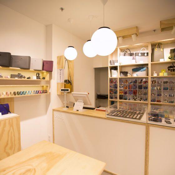 Création d'une boutique OBAG à Nantes
