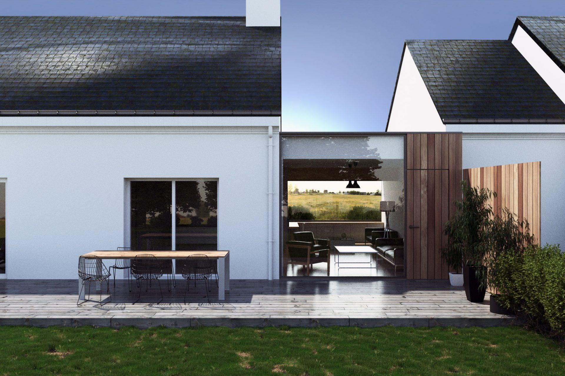 extension d une habitation 44 la fabrique plans. Black Bedroom Furniture Sets. Home Design Ideas