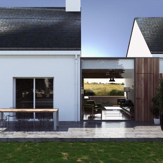 Extension d'une habitation (44)