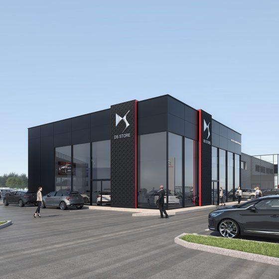 Modélisation pour des concessions Peugeot Citroën