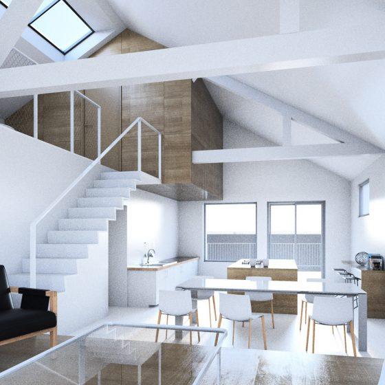 Création de deux appartements (44)