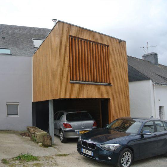 Extension d'une habitation (56)